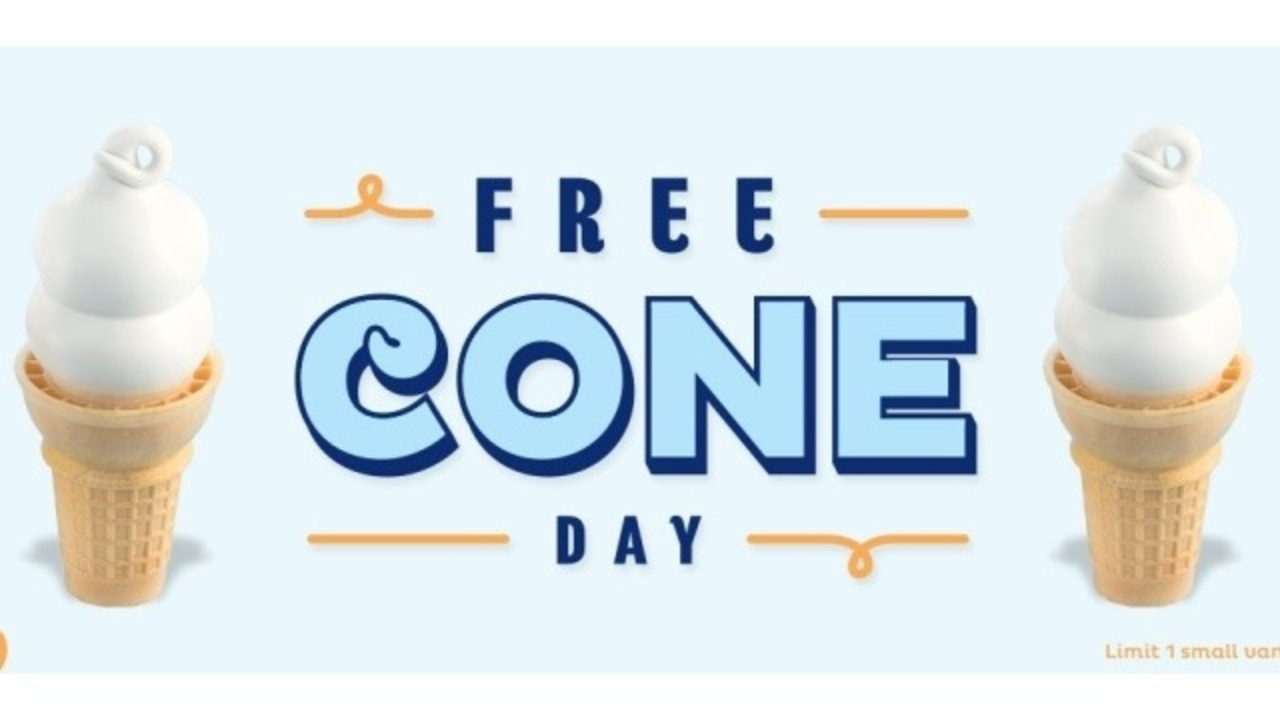 free cone day dairy queen 2019