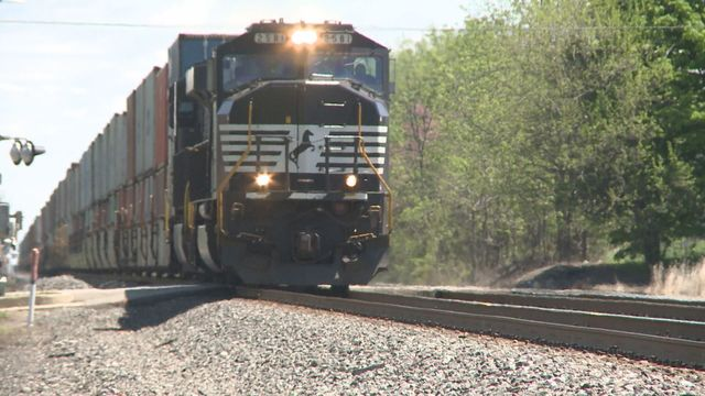 Amtrak train hits unoccupied vehicle on track in Indiana
