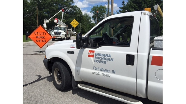 Thousands without power in Indiana and Michigan