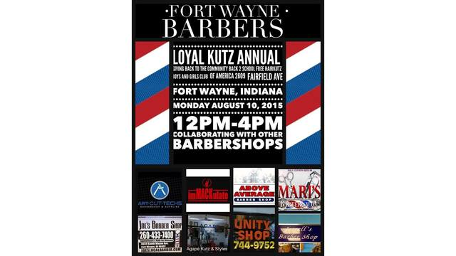 Barbers Partner For Free Back To School Haircuts