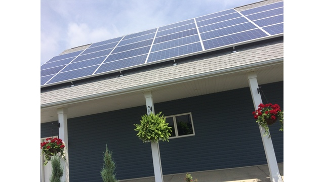 Ruoff Solar innovation home out with tech design wane