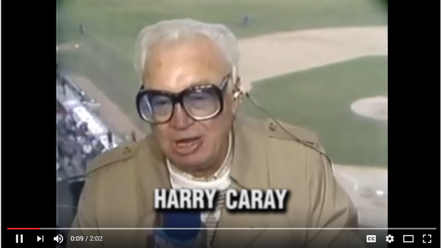 Budweiser salutes Harry Caray with World Series victory video