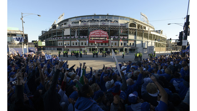 Bucket on head might have saved fan injured at Wrigley Field