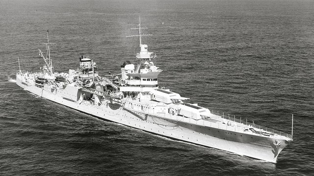 Search crew finds sunken USS Indianapolis