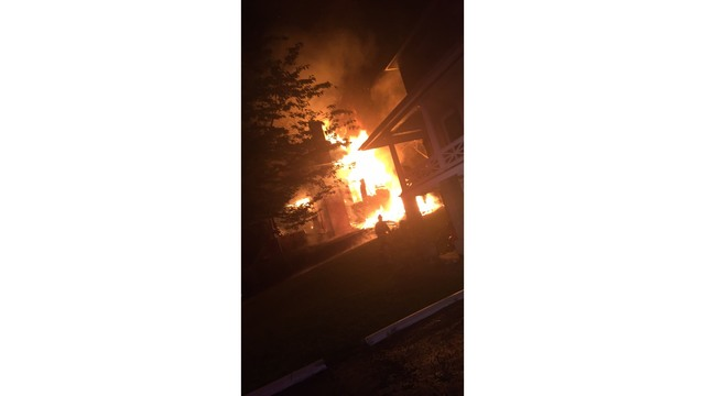 Investigators: Activity, vehicle spotted before 'suspicious' fire