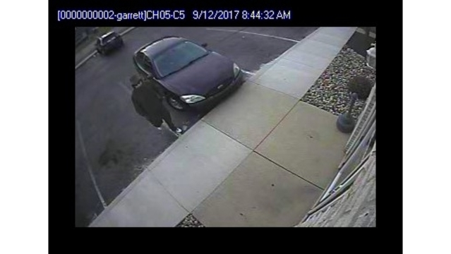 Garrett Beacon Credit Union robbery suspect surveillance_282875