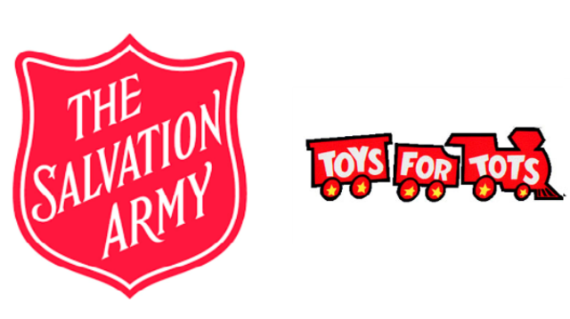 Salvation Army Angel Tree and Toys for Tots application information
