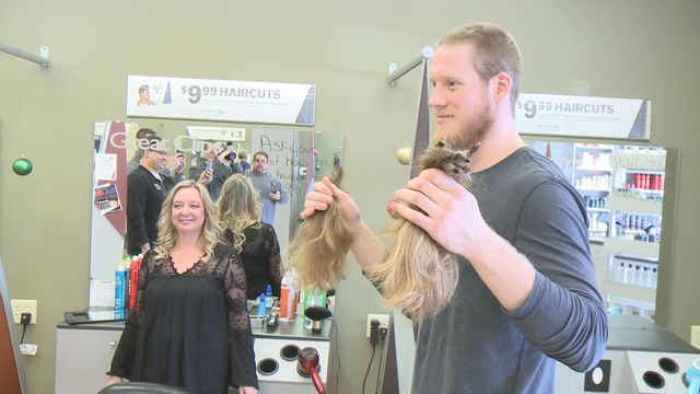 Komets Standout Sol Donates Hair To Wigs For Kids In Honor Of Cousin