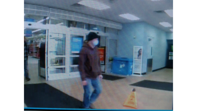 Police searching for man wanted in armed robbery at Auburn Walmart