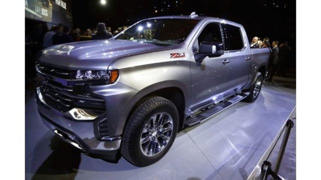 Redesigned Chevy Silverado Pickup Loses Weight Gains Size
