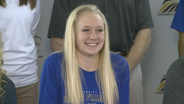 Columbia City's Mosier heading to USF for volleyball