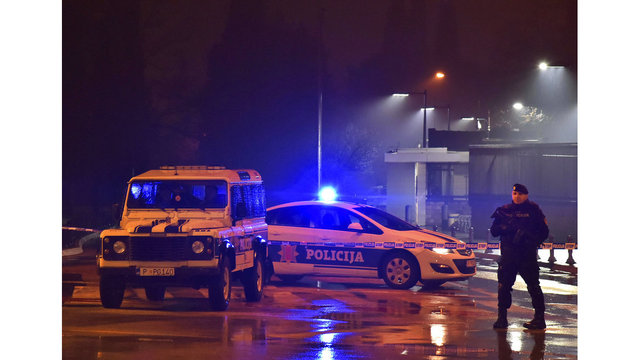 Montenegro police working to identify attacker on US embassy