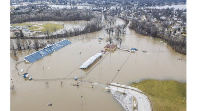 Damage surveys continue in Indiana, Michigan after floods
