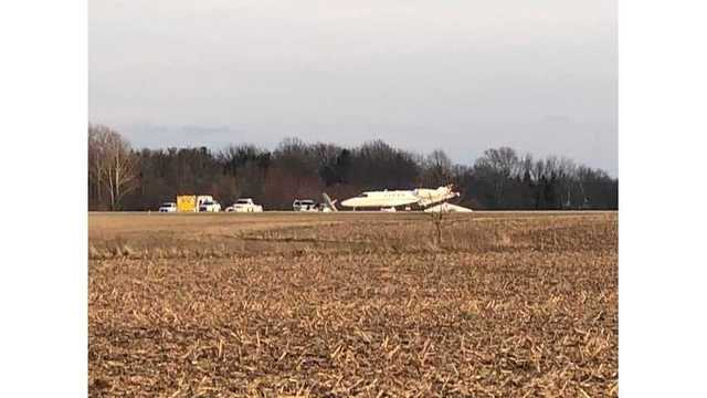 Planes crash on runway at IN airport, killing 2