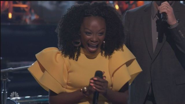 Fort Wayne's Christiana Danielle voted forward on 'The Voice'