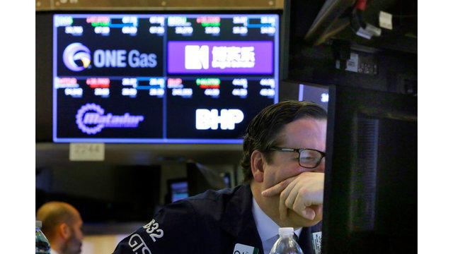 Dow sinks on China's new tariffs