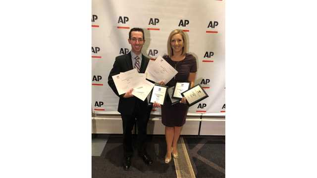 WANE-TV recognized with 5 AP Broadcast awards