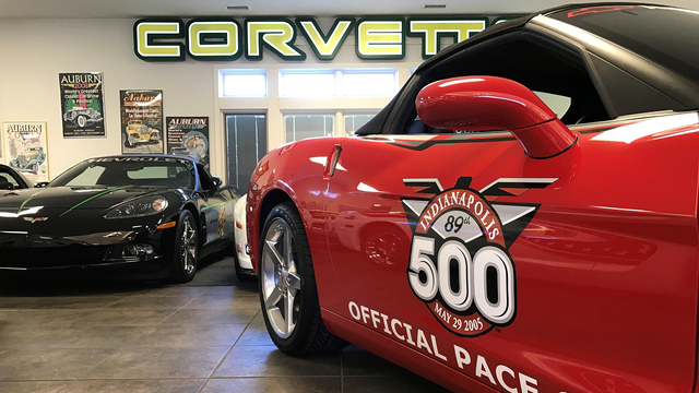 Keith Busse To Auction Collection Of Indy 500 Pace Cars