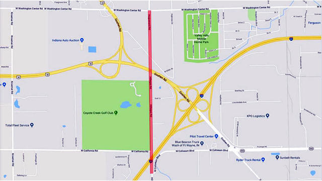 Stretch of Hillegas Road to close for 7 months