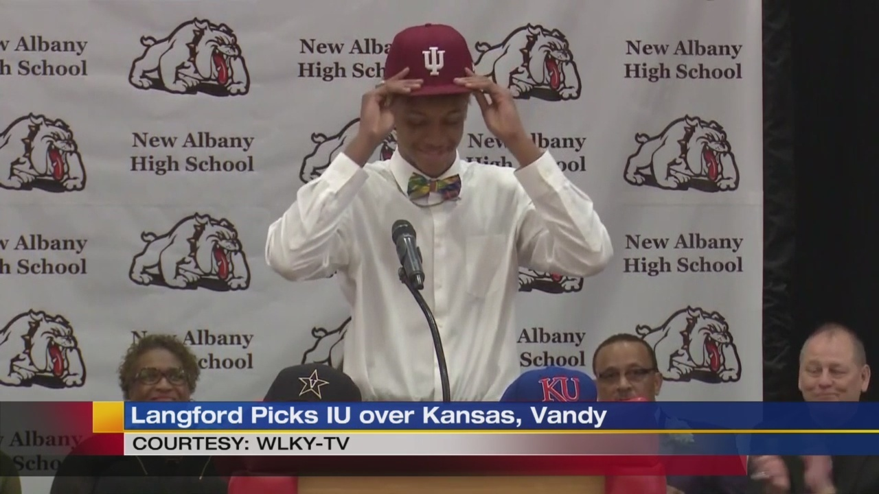 Romeo Langford picks IU over Kansas and Vandy - video
