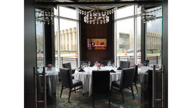 Ruth's Chris Steak House Fort Wayne private dining room