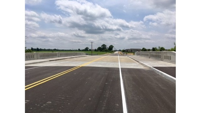 Section of West Hamilton back open following completion of bridge, trail work
