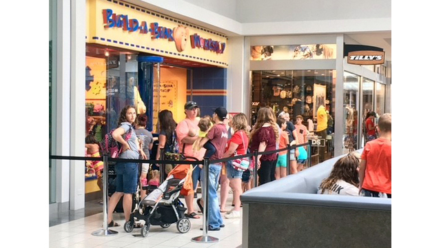 Build-A-Bear 'Pay Your Age' event attracts hundreds