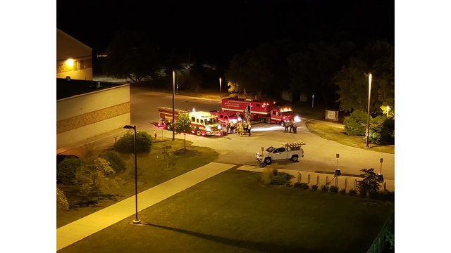 Hazmat situation on Purdue Fort Wayne's campus