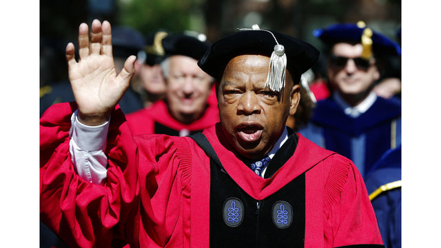 Rep. John Lewis hospitalized, under 'routine observation'