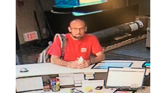 Police release photo of suspected hotel thief