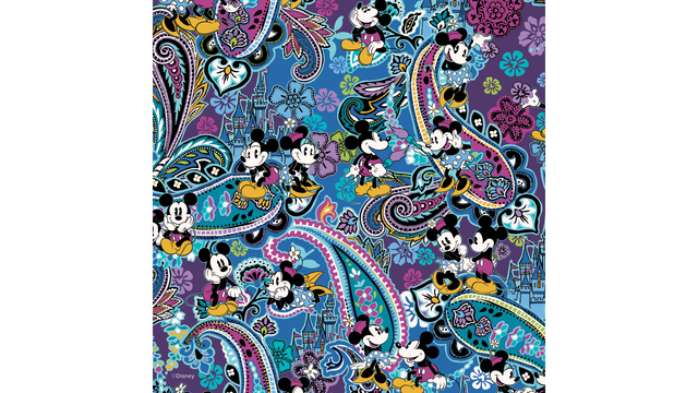 Vera Bradley Disney Partner On New Pattern