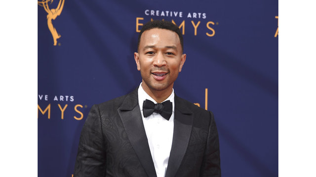 Newly minted Emmy winner John Legend joins 'The Voice'