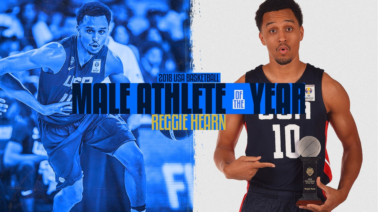 ca6de52a2138 Snider grad Reggie Hearn named USA Basketball Male Athlete Of Year