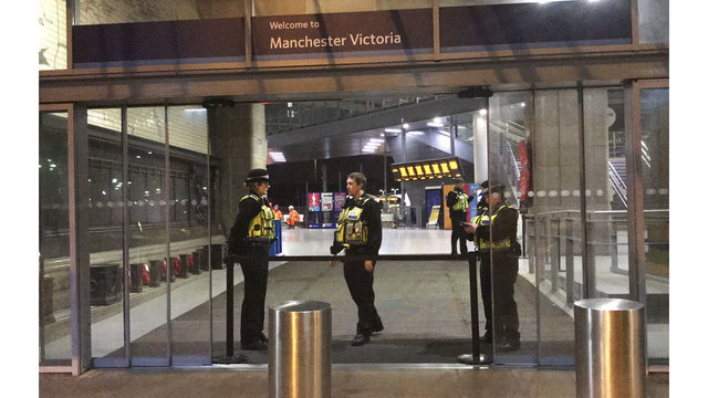 UK police: New Year's Eve stabbing of 3 treated as terrorism