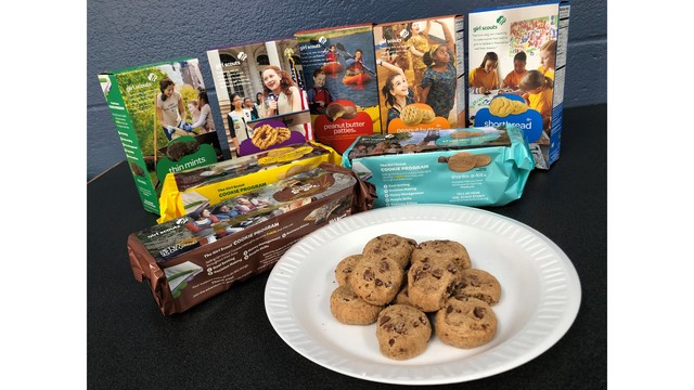 Girl Scout cookie sale set; new cookie available