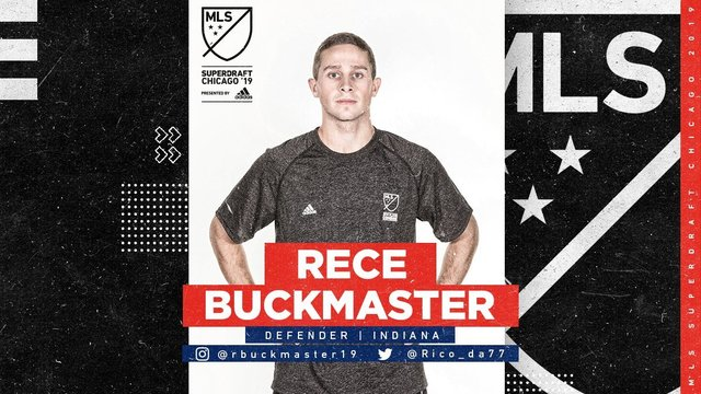 Canterbury grad Rece Buckmaster selected in MLS Draft