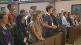 Dwenger Students leave to lead abortion protest