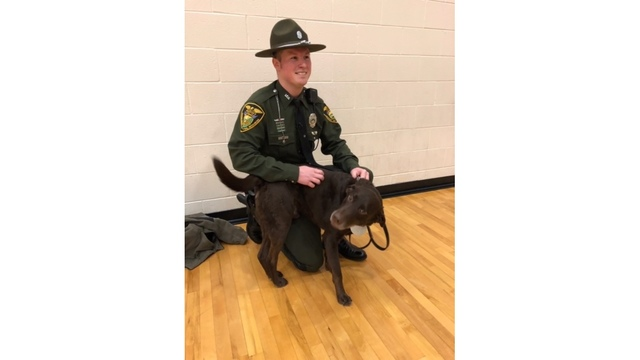 Viral Indiana Conservation officer and K9 featured in book
