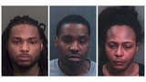 Trio arrested in slayings of man, 2 sons