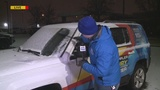 Ice and snow create another hazardous morning