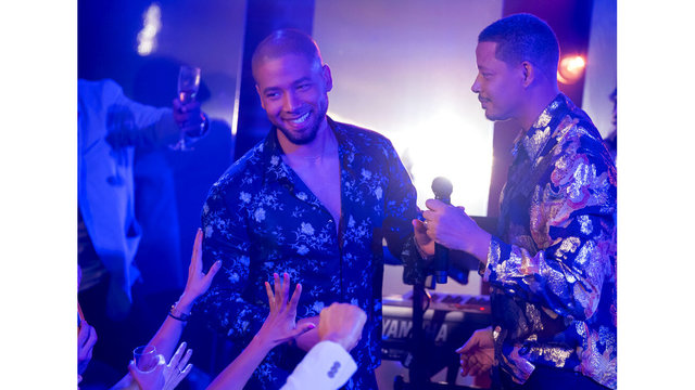 'Empire' star Terrence Howard supports Smollett with post