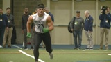 Tranquill proving doubters wrong at Notre Dame pro day