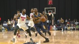 Drive hold off Mad Ants in regular season finale